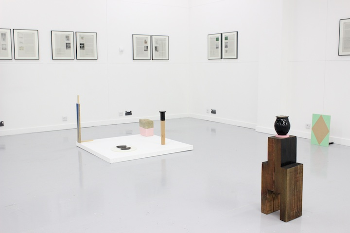 Sarah Hughes and David Stent, Objects of Conjecture. Installation view, 2015