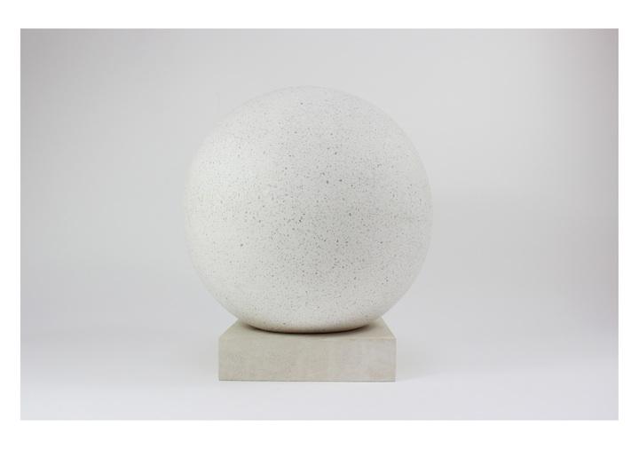 Sarah Hughes, Finial, C-type print (Portland stone, concrete composite) 2015